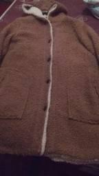 Casaco M e bolsa semi-novo da marca Chalita