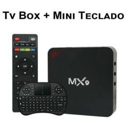 TV Box MX9 4K Ultra HD Wi-Fi Android