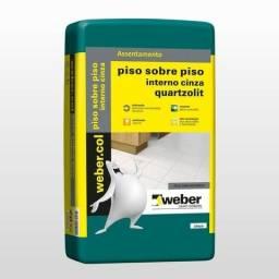 Argamassa Quartzolit Piso/Piso 20kg - R$ 35,50