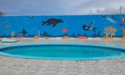 Casa com boa localização, a 300 metros do mar. Praia do Abais