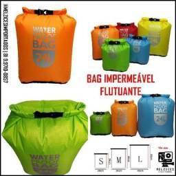 Título do anúncio: Bag Impermeável Flutuante 12L LARANJA