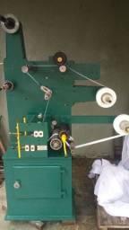 Troqueladora e rebobinadeira 160 mm