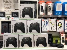 Controle Sem Fio Xbox Carbon Black - Original
