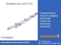 Kit Barramento LED 39LN LG - 8 Barras