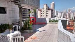 Cobertura à venda com 4 dormitórios em Aviação, Praia grande cod:1755