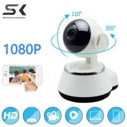 Camera Robo de Segurança e Baba Eletrônica Wi-fi Nova Controle Pelo Celular