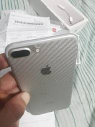 IPhone 7 Plus silver completo 32g