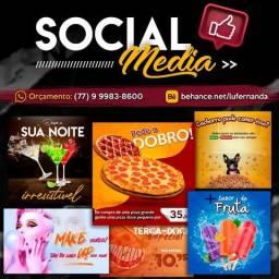 Logotipo, Social Media e Identidade Visual profissional para seu negócio