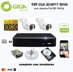Kit completo giga security Full HD instalado