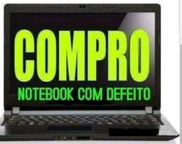 Notebooks e computadores