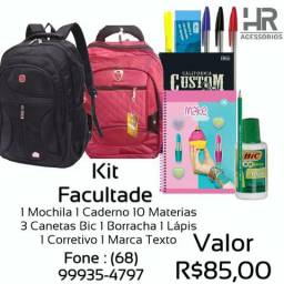 Kit Faculdade