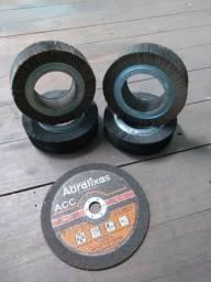 Disco de policorte e roda lixa PG