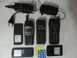 Celular Antigo 2 Marca Ericson e 1 Philips - Usados