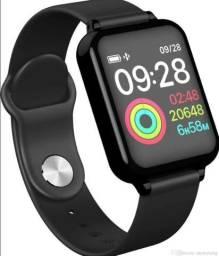 Relogio Smartwatch B57 - pressão batimentos calorias sensor