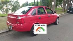 GM Corsa Sedam flex financiamento com score baixo entrada 3000