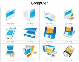Microsoft Power Point Clip Art, Diagram e Templates