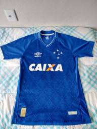 Camisa do Cruzeiro I 2017 - Umbro