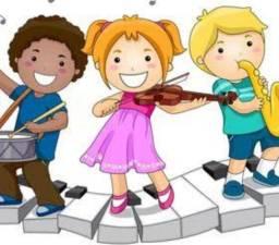 Aulas de musicalização infantil