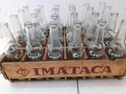 Antiguidades garrafa antiga grapette crush