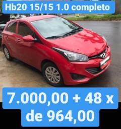 Hb20 15/15 1.0 Completo 7.000,00 mais 48x de 964,00