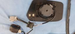 Kit espelho retrovisor com aquecimento original fusion
