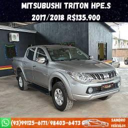 Mitsubishi Triton Diesel 4x4 2017/2018 R$135.900
