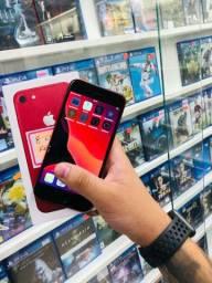 iPhone 8 vermelho 64gb na caixa- aproveite