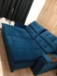 Sofá Retrátil e reclinável.