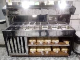Balcões,todo tipo de balcão para lanches,comida,buffet direto do fabricante