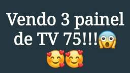 Vendo 3 painel para TV 75