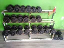 Estante de Dumbells 12 a 40 kg