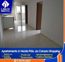 Apartamento com 02 suítes, Locação ou Venda, 56 m²,no Indianópolis, Caruaru/PE