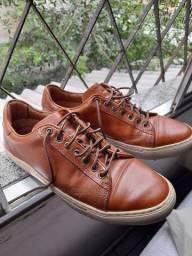Sapato em couro Mr Cats