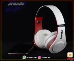 Headphone Bluetooth 5.0 Evolut Preto ? EO602-BK m19sd11sd20