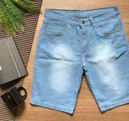 Bermudas jeans a pronta entrega