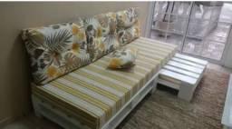 Sofa de pallet de todo tamanho