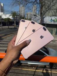 Rose iphone 7 plus rosa de 32