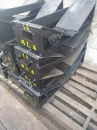 Locação de Berços Metálicos p/ o Transporte de Bobinas de Aço