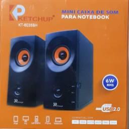 Caixa de som para computador 6w