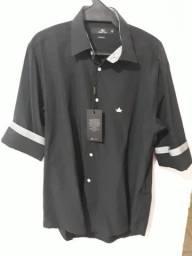 Camisa Urban City -Passa Fácil - Tamanho 3/40 M Preta