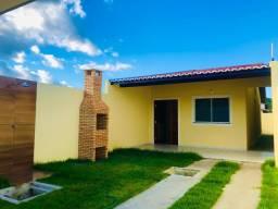 DP casa nova com 2 quartos,banheiros,garagem,coz.americana,quintal em pedras fortaleza