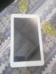 Tablet Multilaser e celular da positivo tela quebrada