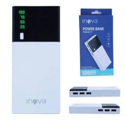 Carregador portátil inova 10.000mah 3 USB