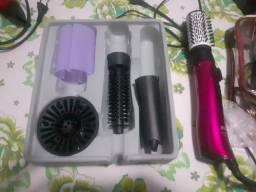Escova cabelo rotativo