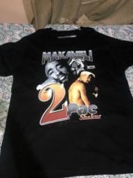 Camisa 2 pac shakur makaveli original