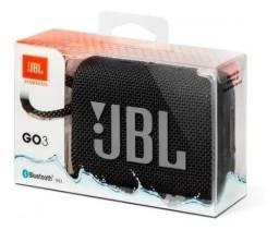 JBL Go 3 Caixa de som portátil à prova d'água, Original, Lacrada, nf e Garantia
