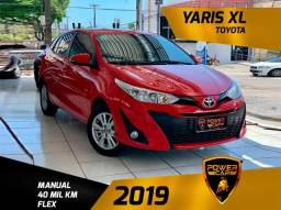 Título do anúncio: Toyota yaris XL 2019 mecânico extra única dona