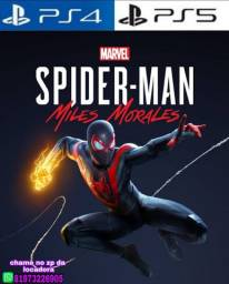 Marvel's Spider-Man Miles Morales PS4 ou PS5 LOCACAO