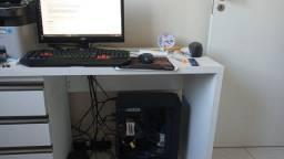 Título do anúncio: Computador de mesa workstation + monitor, teclado e mous (Configurações na descrição)