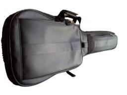 Capa de guitarra em courino impermeável